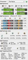 Naïve Thorax Stats